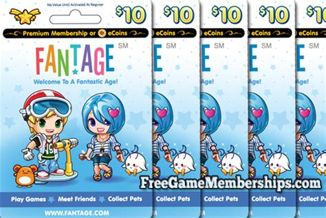 earn a free fantage premium membership code in 2017 freegamememberships com - Fantage Gift Card Codes