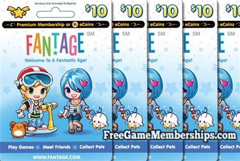 Fantage Gift Card - earn a free fantage premium membership code in 2017 freegamememberships com