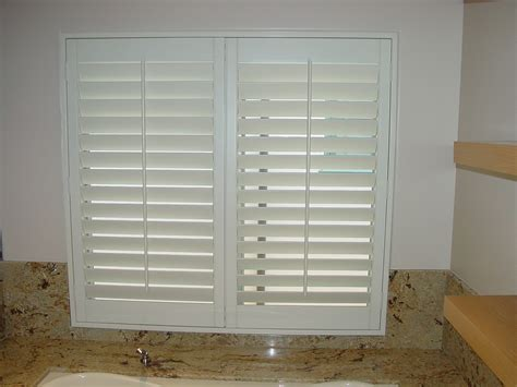interior vinyl shutters for windows small interior window shutters home design awesome