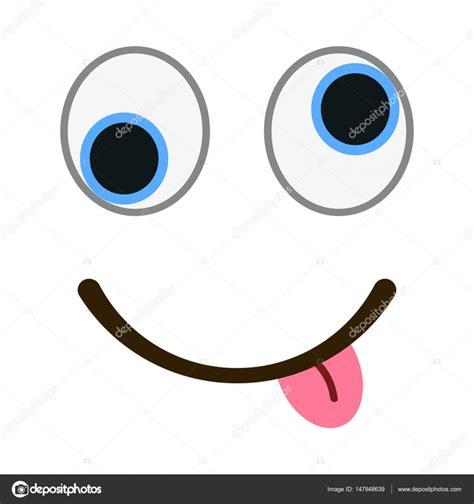imagenes de ojos sin fondo emoticon sonriente con ojos locos en moda estilo plano