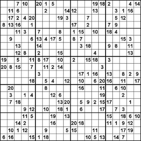 printable hexadecimal sudoku sudoku in verschiedenen gr 246 223 en puzzlephil