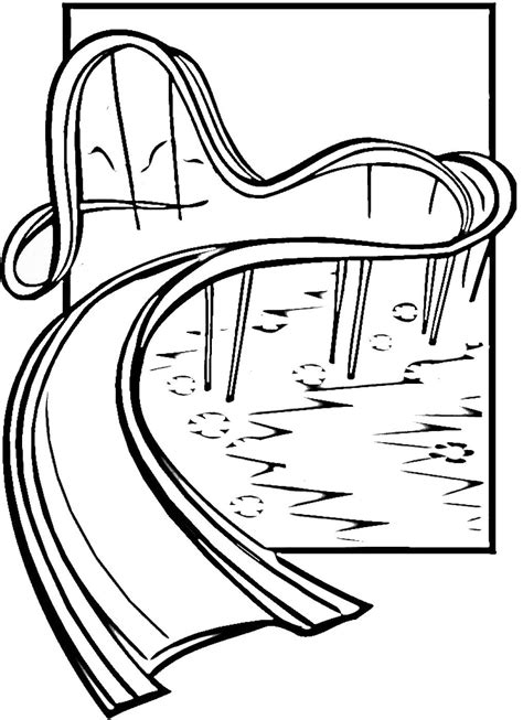 coloring pages of water slides water slide coloring pages coloring home