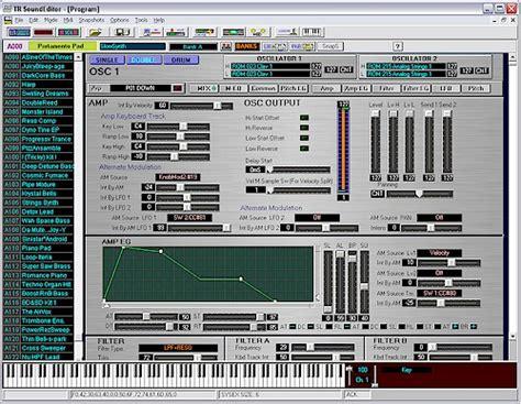 Tr Editpro Soundeditor Soundtower Software Software | the editing programs for korg alesis and waldorf