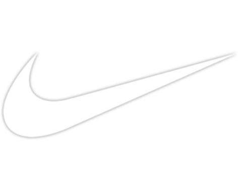 nike swoosh logo 2x car window laptop vinyl decal