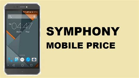 bangladesh mobile price symphony mobile price in bangladesh updated in 2018
