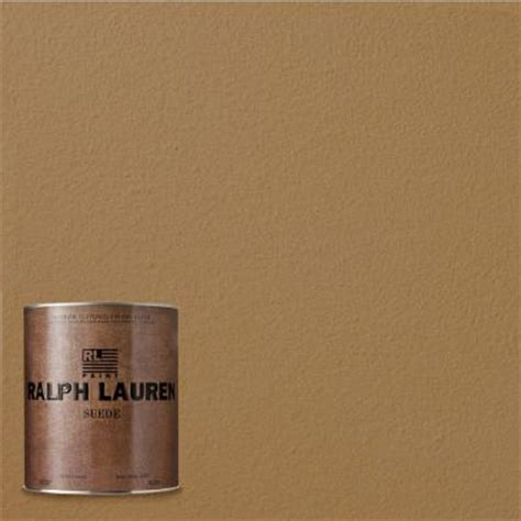 ralph 1 qt mochernut suede specialty finish interior paint su136 04 the home depot