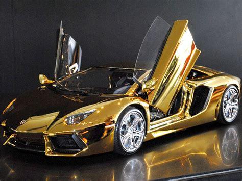 The Coolest Lamborghini In The World Golden And Gem Covered Lamborghini Is The World S