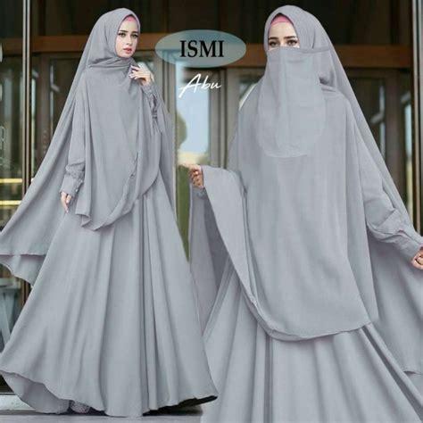 Gamis Payung Tangan Balon model gamis syari bercadar ismi abu model baju gamis terbaru