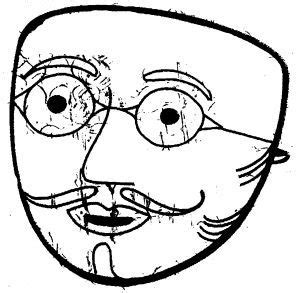 applique bois 3779 masque gille de binche dessin recherche