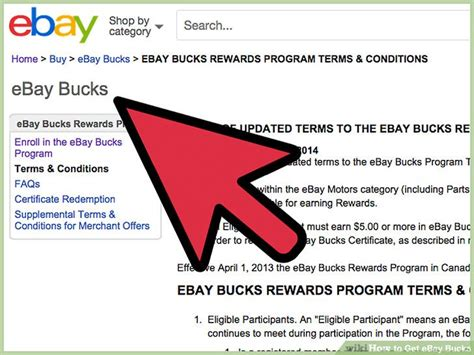 ebay bucks how to get ebay bucks 8 steps with pictures wikihow