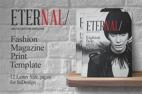 fashion magazine print template magazine templates on