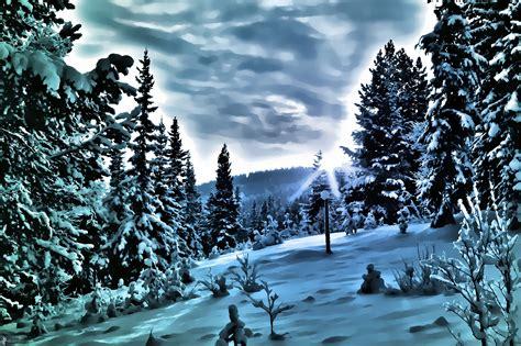 imagenes invierno nieve paisaje de invierno