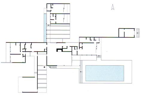 kaufmann desert house floor plan history of architecture and sculpture
