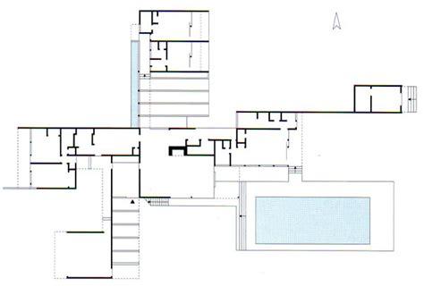kaufmann desert house floor plan kaufmann house in palm springs plan pictures