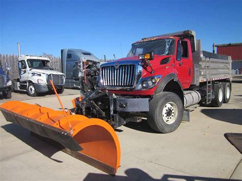 international  sfa plow spreader truck  sale