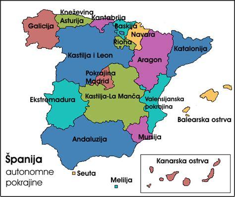 espa 241 a y sus comunidades aut 243 nomas las comunidades autonomas para nios mapa de las comunidades aut 243 nomas de espa 241 a tama
