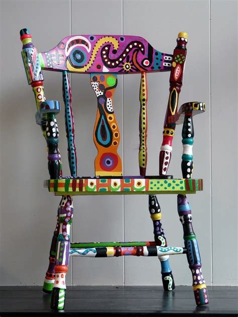 painted chairs images october cat studios just a quick look at our new show
