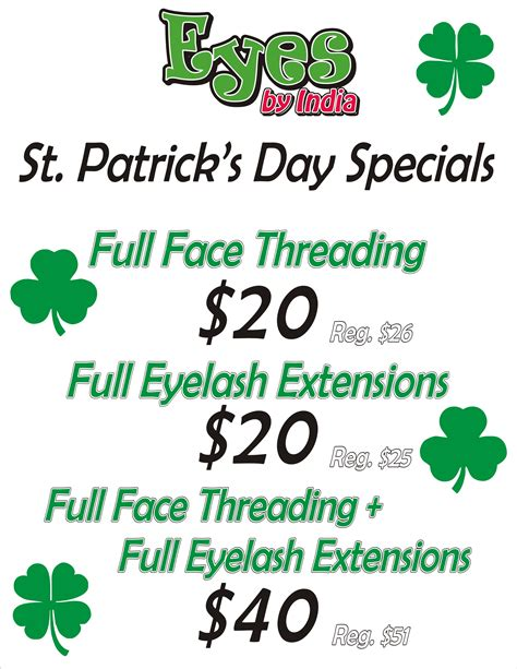 st s day deals leading brow threading and eyelash extensions salon