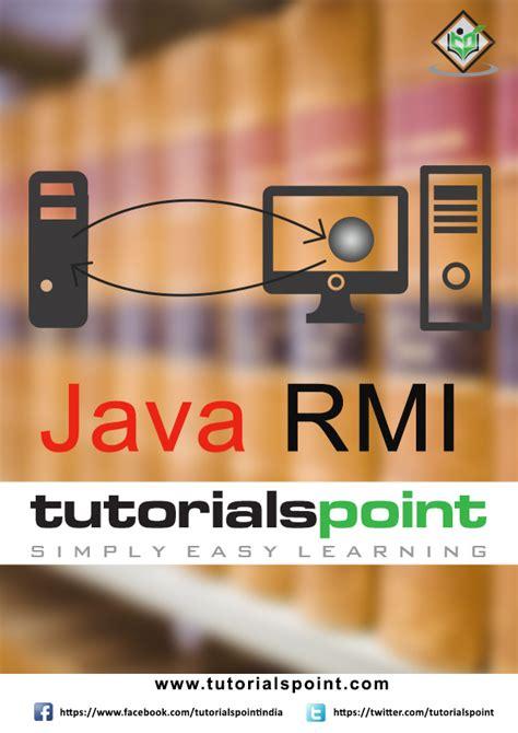 tutorial java rmi pdf e books store tutorialspoint