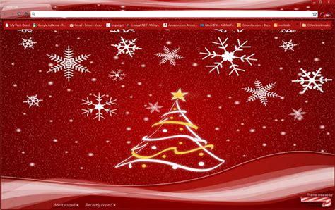 google xmas themes 5 interesting christmas themes for google chrome