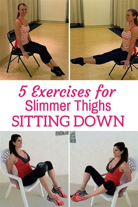 leg exercises at desk thigh exercises while sitting thigh workout