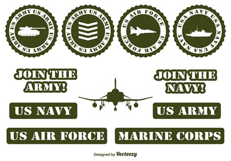 military pattern cdr military vector elements download free vector art stock