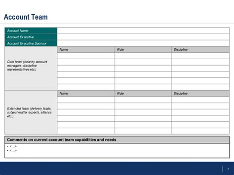 account management templates flevy account management templates