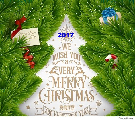 merry christmas happy  year card quotes sayings