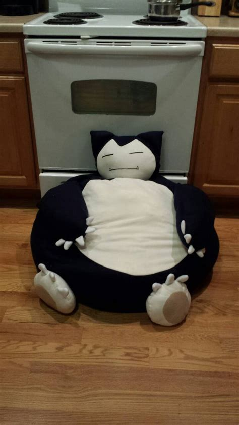lovesac stuffing giant snorlax beanbag plush by pandari on deviantart