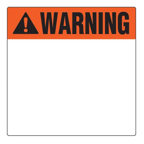 caution sign template best photos of product warning template written verbal