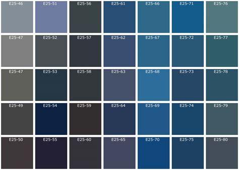 Couleur Peinture Bleu Gris by Nuancier Bleu Recherche Couleurs