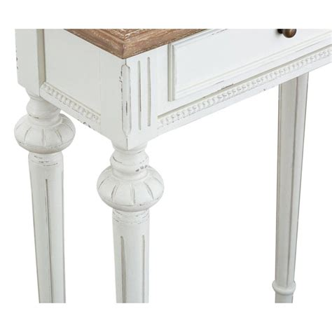 shabby chic telephone table montpellier shabby chic console table small white