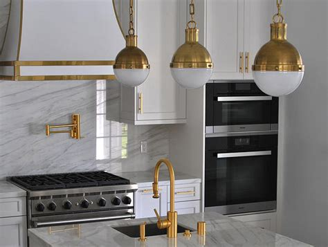 Antique Brass Faucets Bath White And Gold Kitchen Hood Contemporary Kitchen