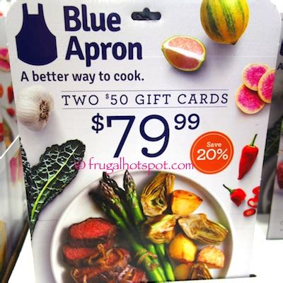 How Long Do Amazon Gift Cards Last - costco blue apron 2 50 gift cards 79 99 frugal hotspot