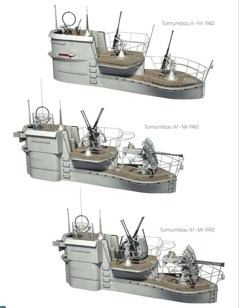 boat tower plans german u boats by different conning bridge tower design