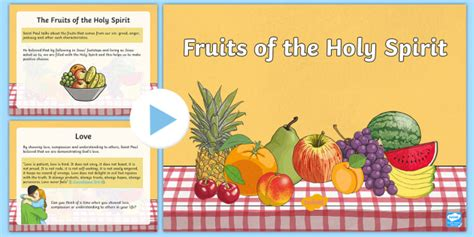 2 fruits of the holy spirit the fruits of the holy spirit powerpoint fruits of the holy