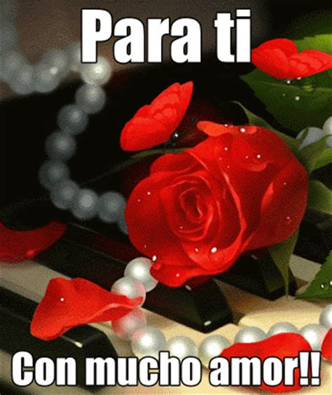 De 6 Rosas Rojas Amor Twitter Facebook Google Descripcin Con Rosas | lindas rosas rojas con movimiento para ti por tu linda
