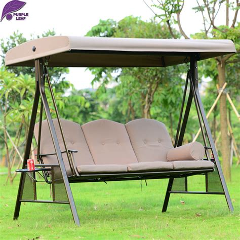 patio swing chairs purpleleaf outdoor patio swing chair furniture high