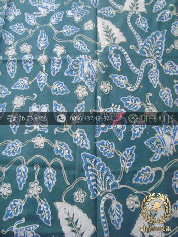 Bahan Kain Balotelli Motif Daun batik tulis warna alam motif floral daun biru batik fabric dye http