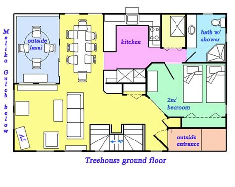 tree house floor plan treehouse treetops