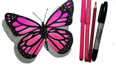 imagenes de mariposas amarillas en foami how to draw a butterfly step by step c 243 mo dibujar una