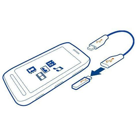 Kabel Usb Otg Sony sony xperia z otg cable micro usb to usb adapter