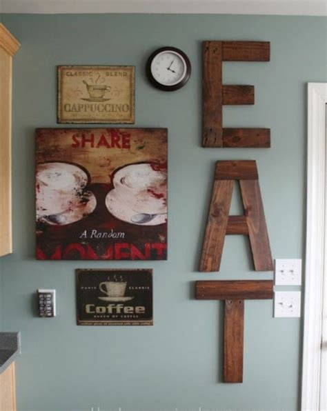 kitchen decorating ideas wall art 18 diy wall decor ideas for attractive home