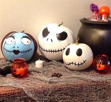 25 no carve painted pumpkin ideas a new trend of