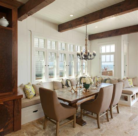 dining room with bench seating esszimmer mit bank einrichten und mehr sitzpl 228 tze am tisch