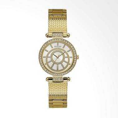Jam Tangan Wanita Guess Brown Gold jual jam tangan guess pria wanita kualitas terbaik