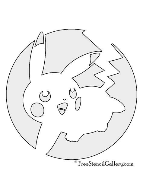 pikachu template pikachu stencils images images