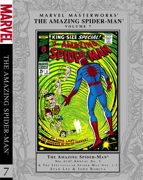 marvel masterworks the amazing spider volume 1 new printing amazing spider masterworks vol 7