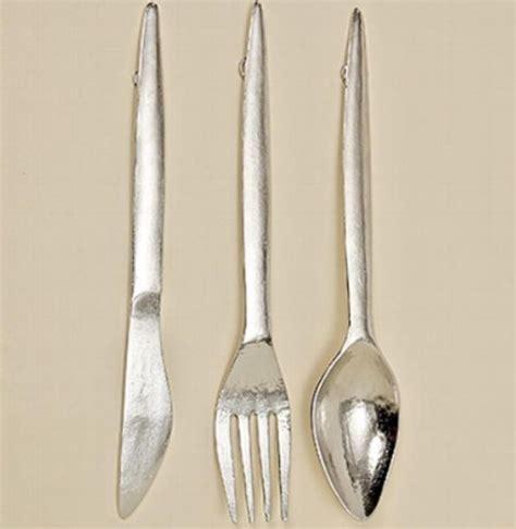 Wanddeko Messer Gabel by Gro 223 Es Besteck Wanddeko Messer Gabel Und L 246 Ffel