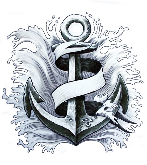 navy anchor tattoo designs these tempting anchor tattoos for define uniqueness